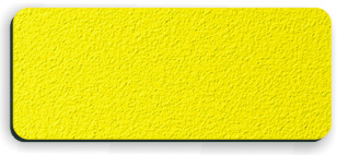 Blank Textured Plastic Name Tag: Acid Yellow and Black - 822-774