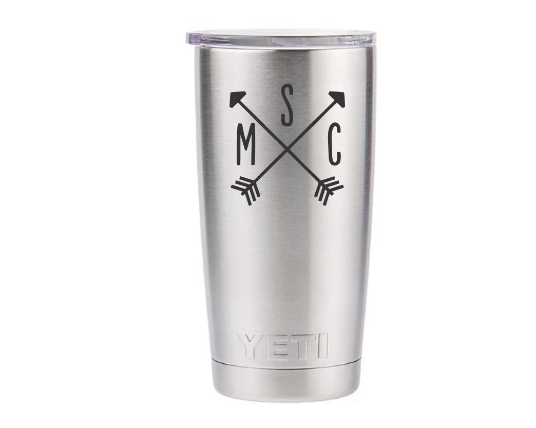 Custom 20 oz YETI Rambler Stainless Steel