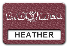 Reusable Textured Plastic Windowed Nametag: Ruby with White - 822-622