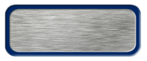 Blank Brushed Silver Name Tag with Blue Border