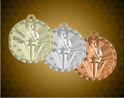 2 inch Victory Bright Medals