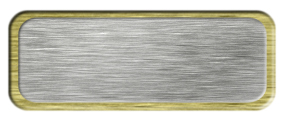 Blank Brushed Silver Nametag with a Brushed Gold Metal Border