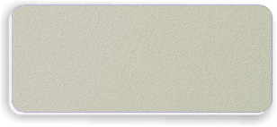 Blank Textured Plastic Name Tag: Ash Grey and White - 822-302