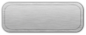 Blank Brushed Silver Nametag with a Brushed Silver Border