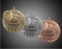 2 3/4 inch Basketball Star Medal