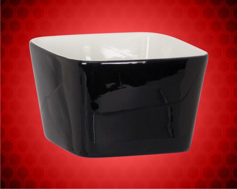 4 x 4 Black Ceramic LazerBowl