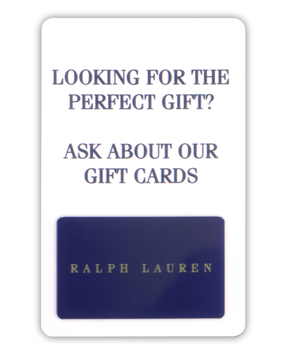 Double Sided Gift Card - Full Color on Both Sides