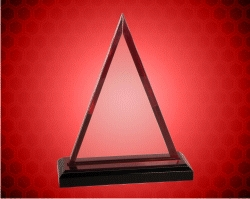 Red Triangle Impress Acrylic