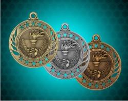 2 1/4 Inch Torch Galaxy Medals