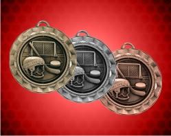 2 5/16 Inch Hockey Spinner Medal