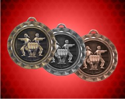 2 5/16 Inch Karate Spinner Medal