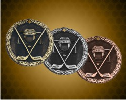 2 inch Ice Hockey XR Medal
