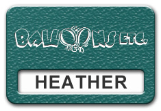 Reusable Textured Plastic Windowed Nametag: Teal with White - 822-992