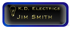 Metal Name Tag: Black and Gold with Epoxy and Shiny Blue Metal Border