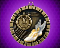 2 inch Track 3-D Medal