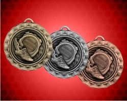 2 5/16 inch Track Spinner Medal