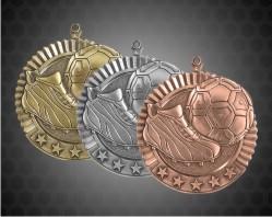 2 3/4 Inch Soccer Star Medal