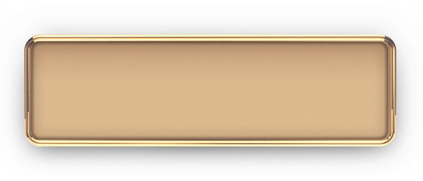 Rose Gold Metal Frame