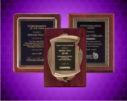 Plaques With Antique Bronze Finish