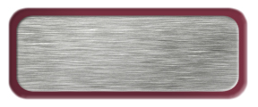 Brushed Silver Nametag with a Burgundy Metal Border
