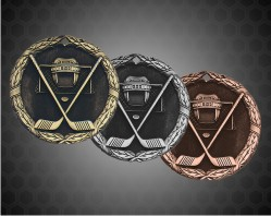 1 1/4 inch Ice Hockey XR Medal