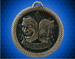 2 inch Drama Value Medal