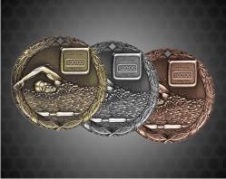 1 1/4 Inch Swim XR Medal