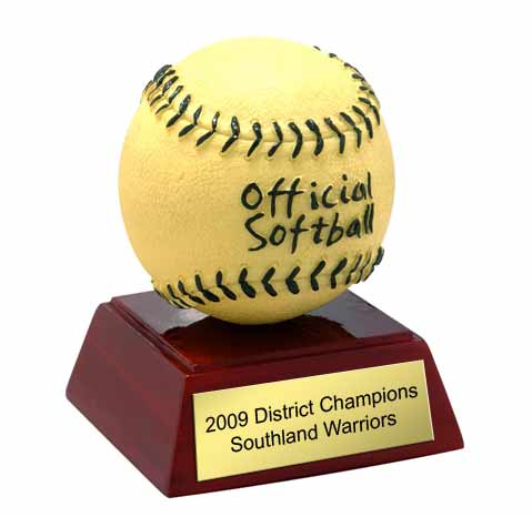 Softball Ball Award