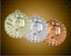 2 inch Volleyball Bright Medals