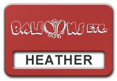 Reusable Smooth Plastic Windowed Name Tag: Crimson with White - LM922-602