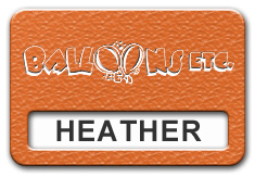 Reusable Textured Plastic Windowed Nametag: Tangerine with White - 822-258