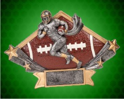 Football Diamond Star Resin