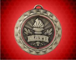 2 5/16 Inch Math Spinner Medal