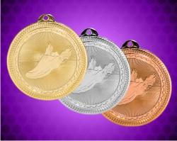 2 Inch Track Britelaser Medals
