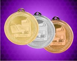 2 Inch Reading Laserable Britelaser Medals