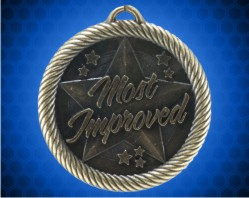 2 inch Gold Most Improved Value Medal