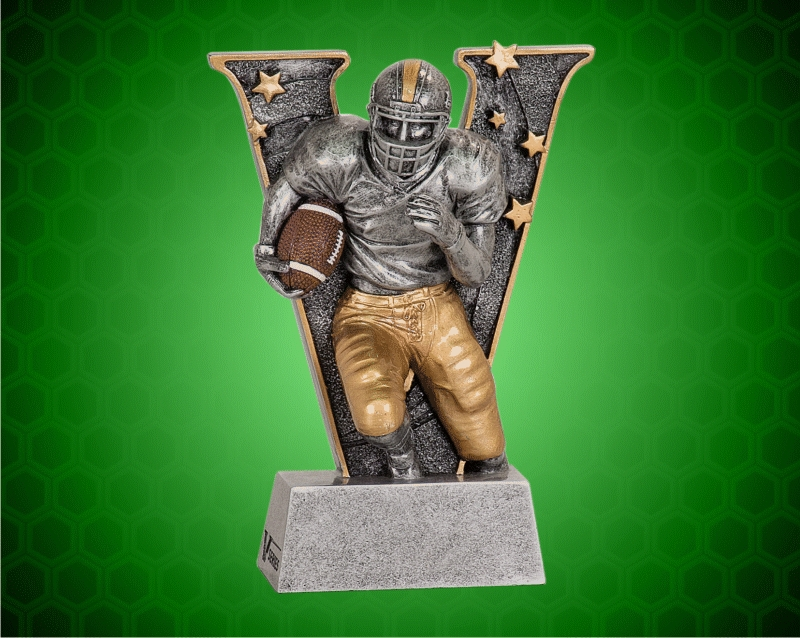 6 Inch Football V Series Resin