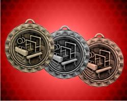 2 5/16 inch Gymnastics Spinner Medal