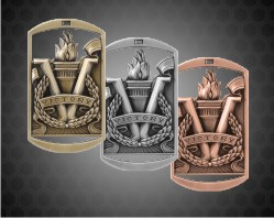2 3/4 inch Victory DT Medals