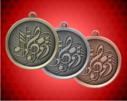 2 1/4 inch Music Mega Medals