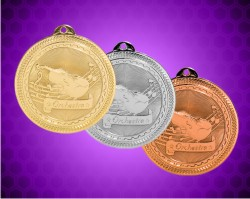 2 Inch Orchestra Laserable Britelaser Medals
