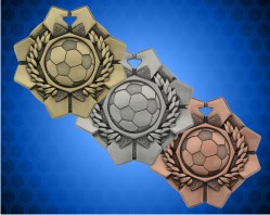 2 Inch Soccer Imperial Medal