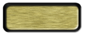 Blank Brushed Gold Nametag with a Black Metal Border
