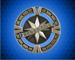 2 1/2 inch Gold Honor Roll BG Medal