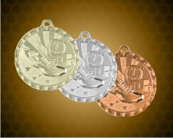 2 inch Track Bright Medals
