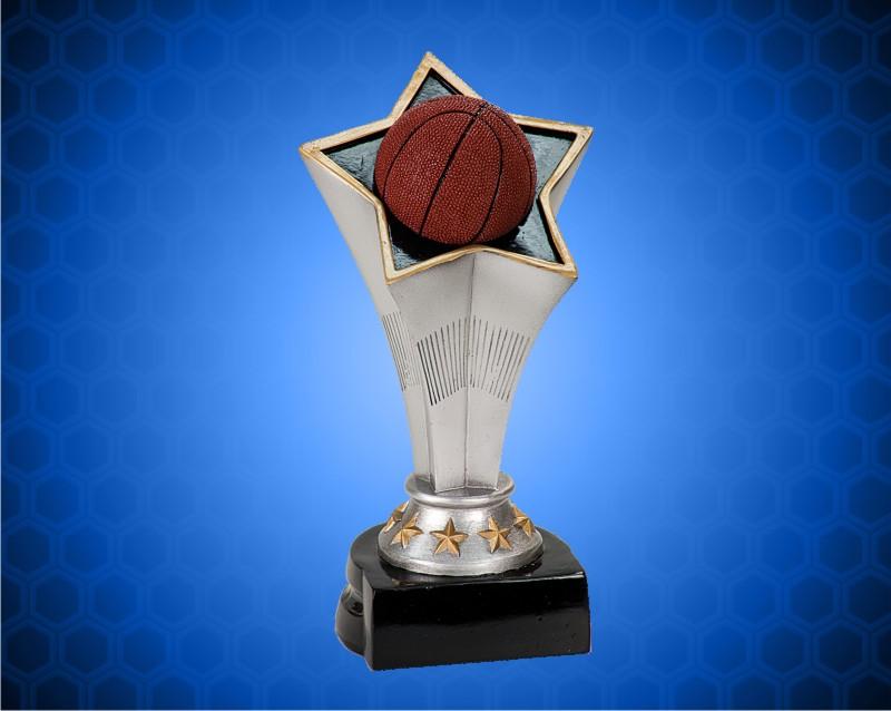 8 3/4 inch Basketball Rising Star Resin