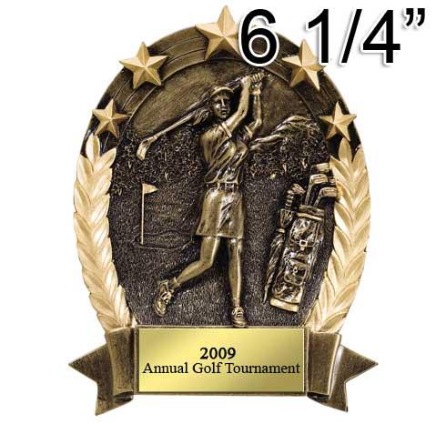 Female Golf Five Star Wreath Award