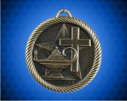 2 inch Christian School Value Medal