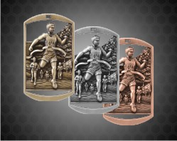 2 3/4 inch Cross Country DT Medals