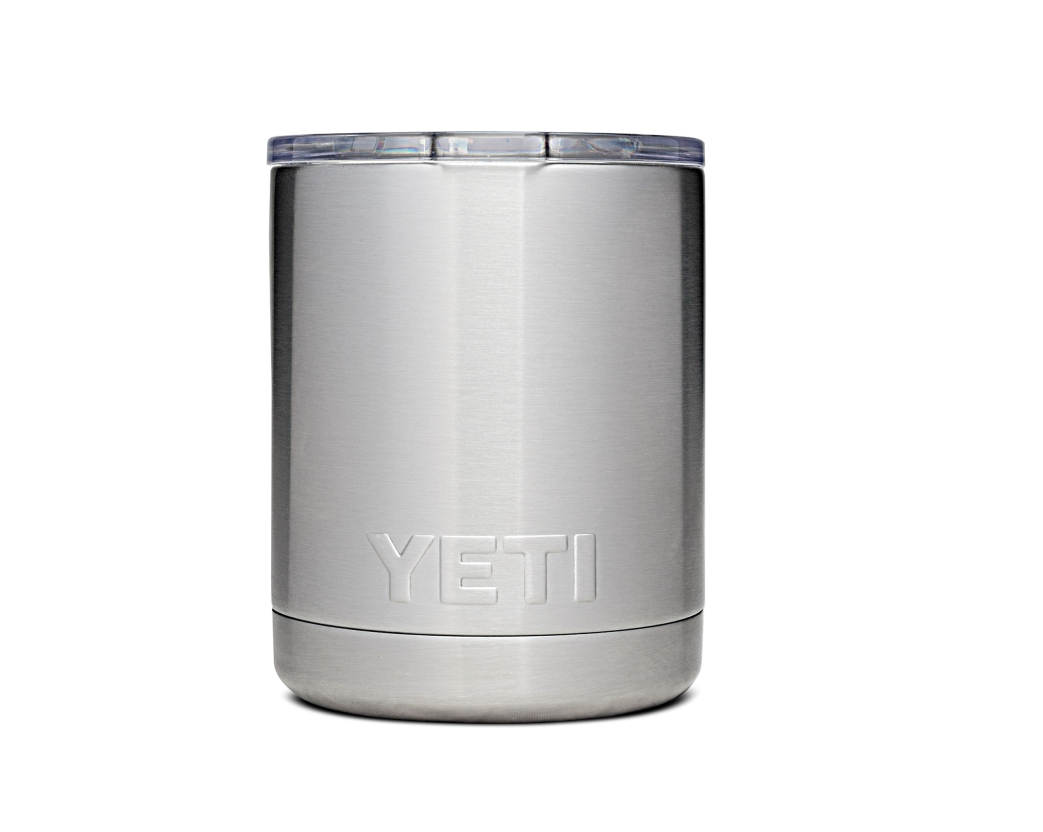 Custom 10 oz Yeti Rambler Stainless steel